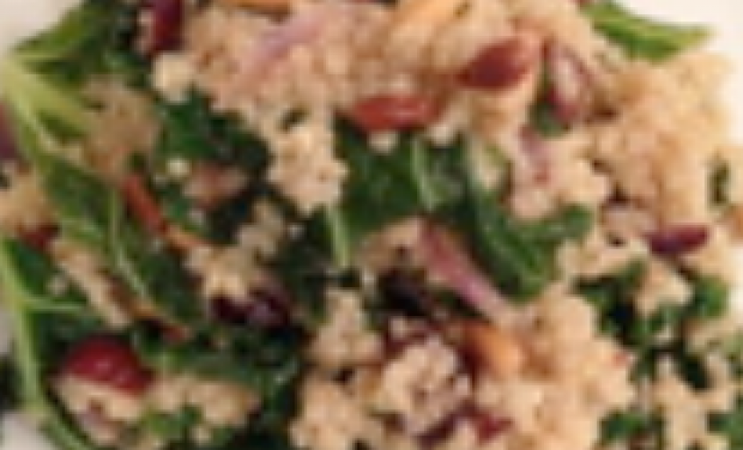 Hearty Kale Quinoa Salad