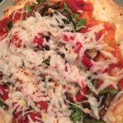 Super Easy Low Carb Vegan Pizza