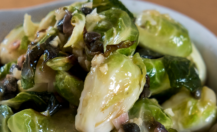 Brussels Sprouts Anchovies