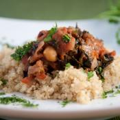 Chickpea Date Tagine Quinoa
