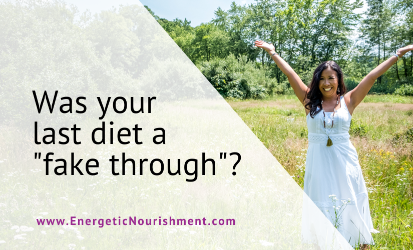 Was your last diet a fake through?